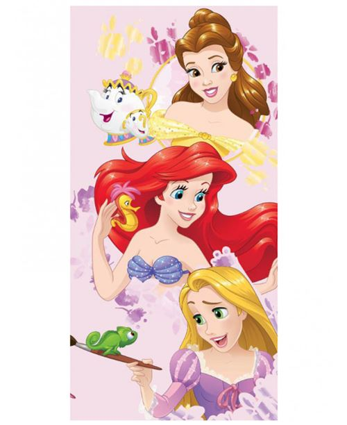 Serviette de bain Princesses Disney Trio