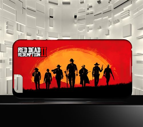 coque iphone 8 red dead