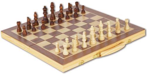 Natural games - jeu d'echecs en bois - jeu de societe