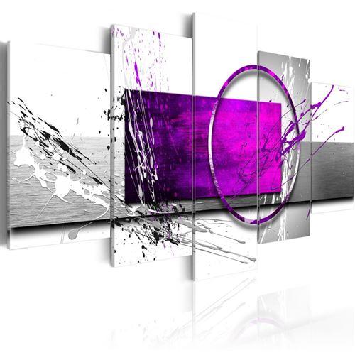 Artgeist - Tableau - Purple Expression 100x50