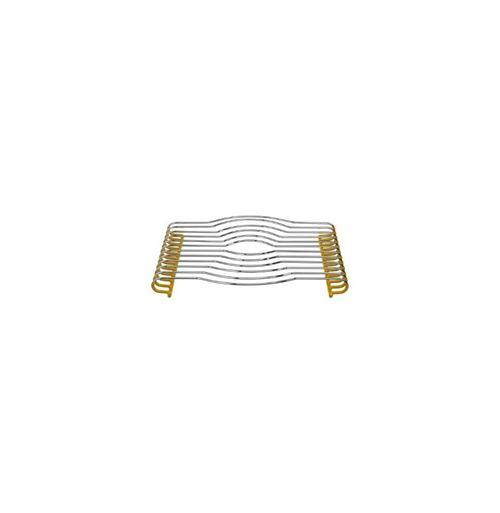 Dessous de plat - 29 x 26 cm - Jaune