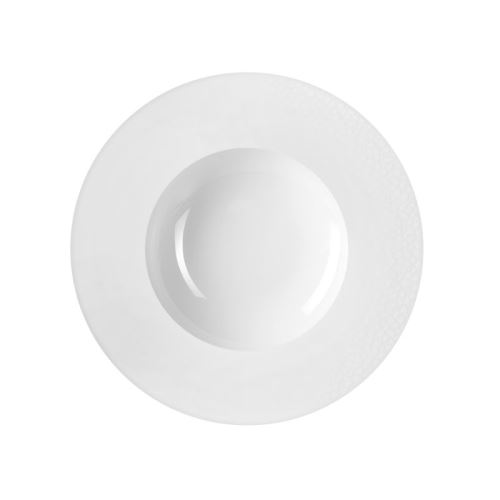 Envie Blanc - Coffret 6 assiettes creuses à aile