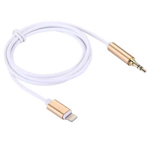 (#19) 8 Pin to 3.5mm Audio AUX Cable for iPhone 7 / iPhone 7 Plus / iPhone 6 & 6s / iPhone 6 Plus &