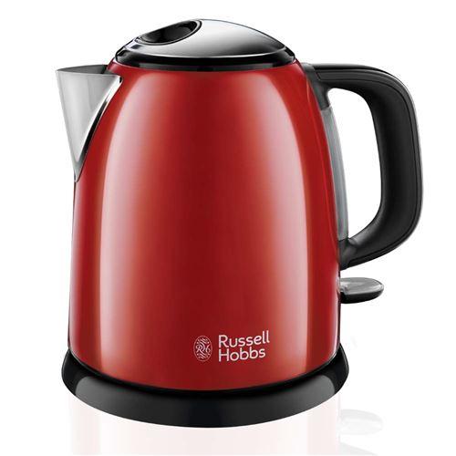 RUSSEL HOBBS - 24992-70 - Bouilloire compacte Colours plus Rouge 1 L
