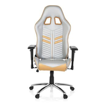 Chaise Gaming Office Bureau Simili League Cuir De Argent Pro Hjh Or F1lJKTc3