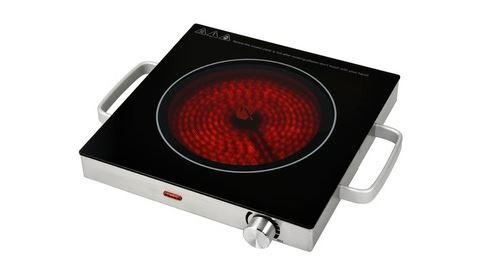Réchaud électrique avec plaque(s) céramique(s) tkg ckp 1001