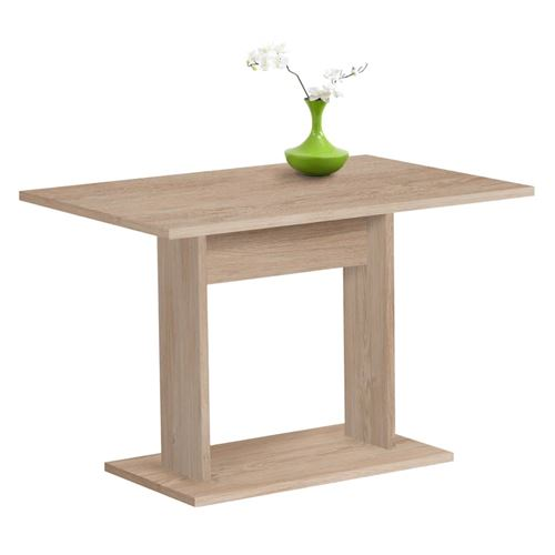 FMD Table de salle à manger 110 cm Chêne