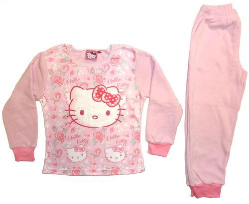 Hello Kitty pyjama polaire rose clair filles