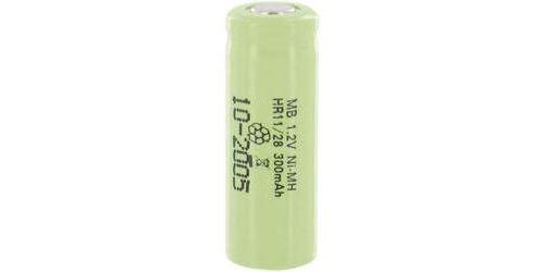 Accumulateur d'énergie 2/3 R6 à tête plate NiMH MicroBatt ACH9209 1.2 V 300 mAh
