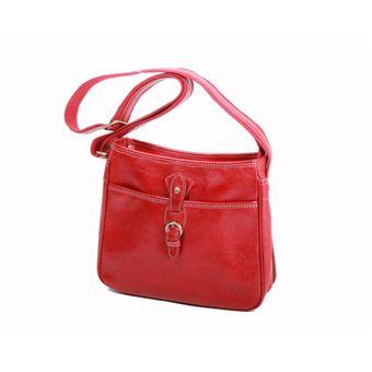 Besace Katana en cuir de Vachette K 32541 - Rouge - Maroquinerie Business -  Achat   prix   fnac 563218283a3