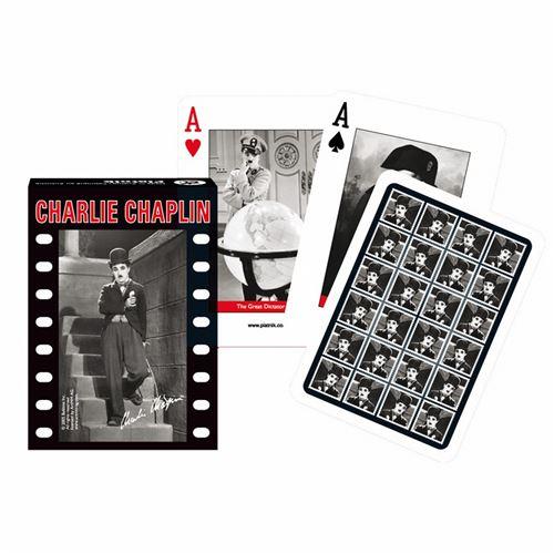 PIATNIK Jeu de 55 cartes CHARLIE CHAPLIN Multicolore