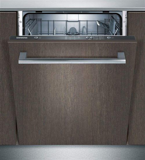 Siemens iQ100 SN614X00AE - Lave-vaisselle - intégrable - Niche - largeur : 60 cm - profondeur : 55 cm - hauteur : 81.5 cm