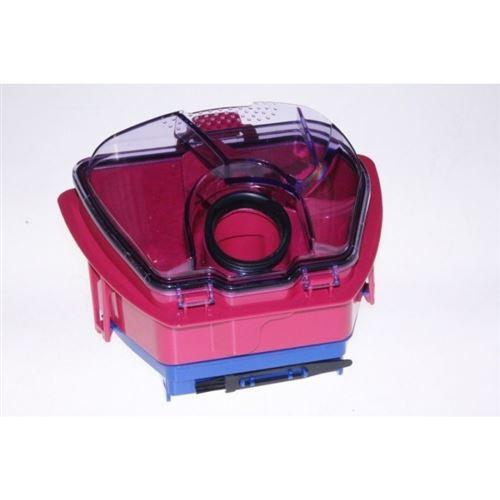 bac separateur rose pour aspirateur seb