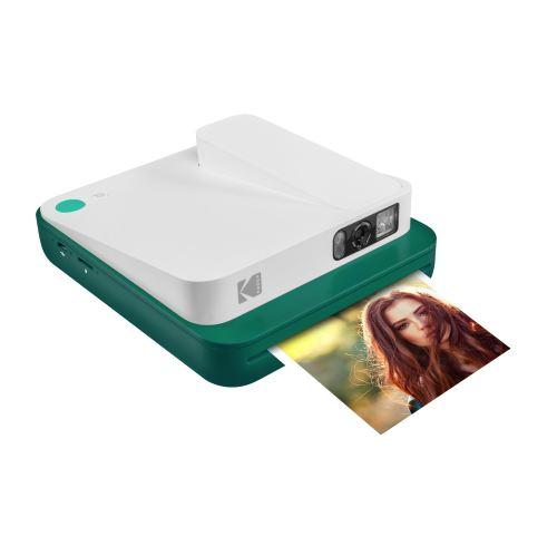 Appareil photo instantané Kodak Smile Classic 2 en 1 Vert et Blanc