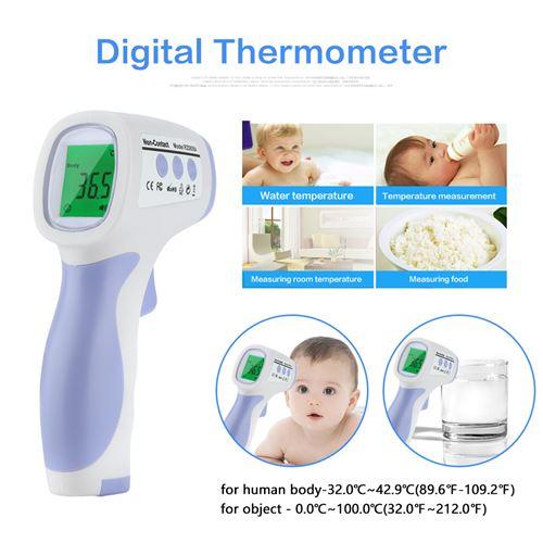 Thermomètre infrarouge numérique