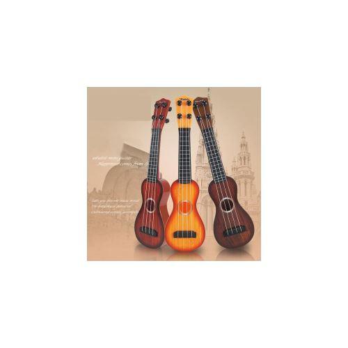 Jouet Musical Ukulele 4 Cordes Plastique Petite Guitare Cadeau pour Enfant