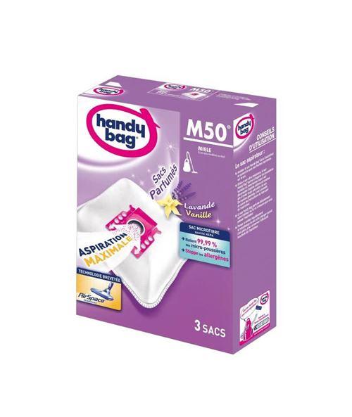 Handy bag m50 sacs aspirateur microfibres parfumés