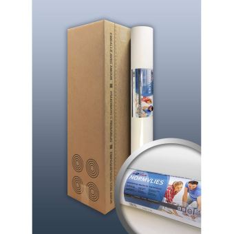 4 rouleaux 75 m2 Intiss/é de r/énovation rev/êtement non-tiss/é de lissage 150 g Profhome NormVlies 299-150 intiss/é /à peindre professionnel