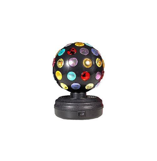 Lampe d'ambiance disco - Boule tournante pour soirées en lumière