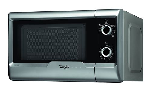 Whirlpool MWD 120 SL libre installation 18L 700 W Argent Four à micro-ondes