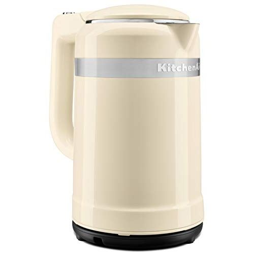 Bouilloire 1,5 l crème design collection kitchenaid 5kek1565eac