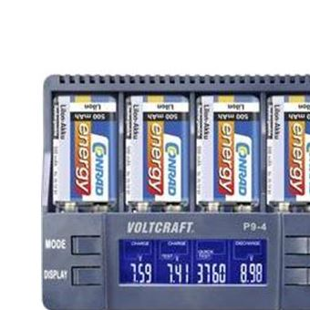 9v P9 Chargeur Pour Voltcraft Piles NicdNimhLi Ion 4 BxrCdoe