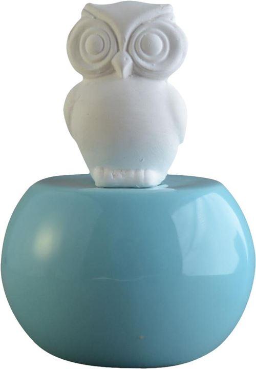 Zen Arôme - Diffuseur SoCute modèle hibou Bleu