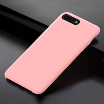 iphone 8 coque silicone rose
