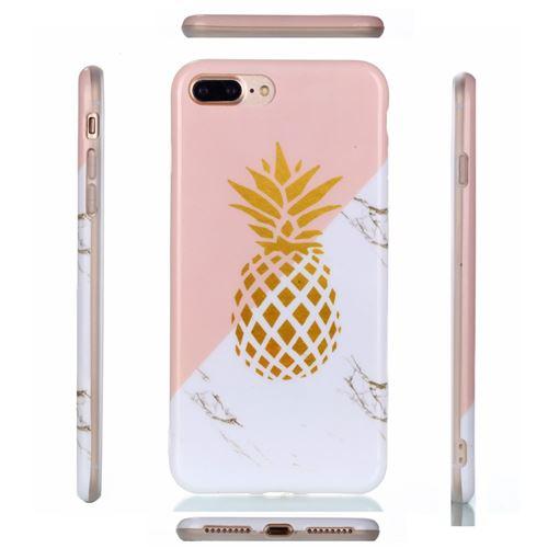 coque iphone 5 ananas marbre
