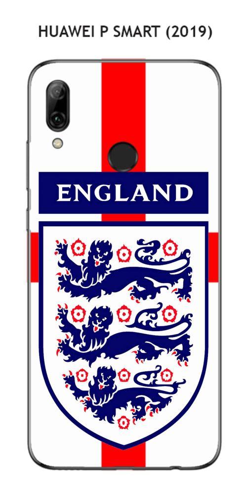 Coque Huawei P Smart (2019) design Foot Angleterre fond drapeau