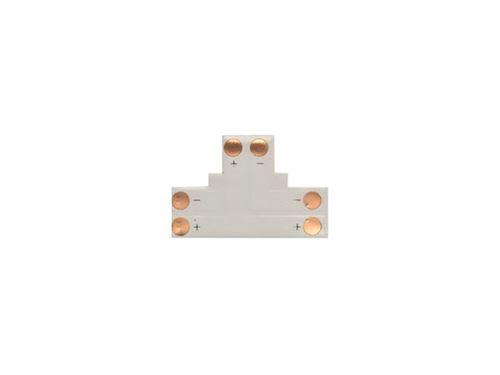 adaptateur angle pour flexible led en t - 1 couleur 10 mm