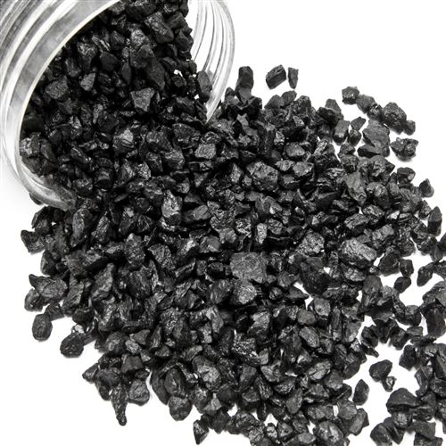 Boite de gravillons de décoration coloris Noir - 400 grs