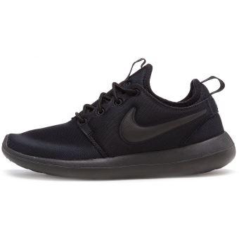 Femmes Nike 004 En uk Run Two Noir 4 Eu Formateurs Roshe 844931 xtrtgS