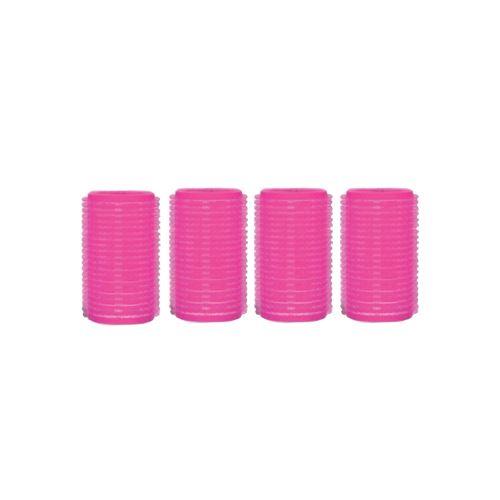 Aurore Beauté : 4 Bigoudis Velcro 6 x 3 cm
