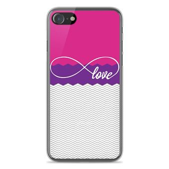 coque iphone 8 silicone love