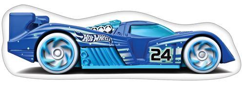 Hot Wheels coussin de figure garçons 40 cm polyester bleu