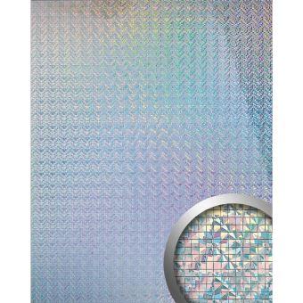Design Revêtement Mural Auto Adhésif Aimantin Miroir WallFace 10575 M STYLE  En Mosaïque Couleurs Prismatiques 0,96 M2   Achat U0026 Prix | Fnac