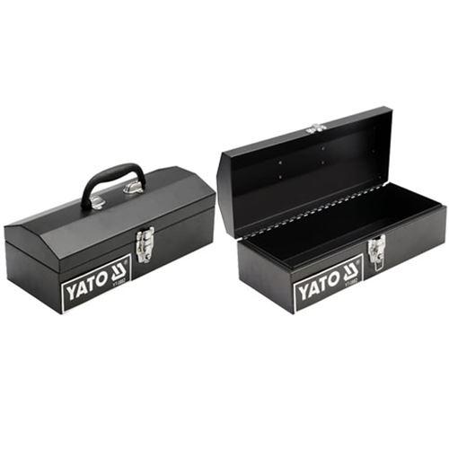 YATO Boîte à outils en acier 360 x 150 x 115 mm
