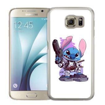 Coque pour Samsung Galaxy S5 stitch deadpool