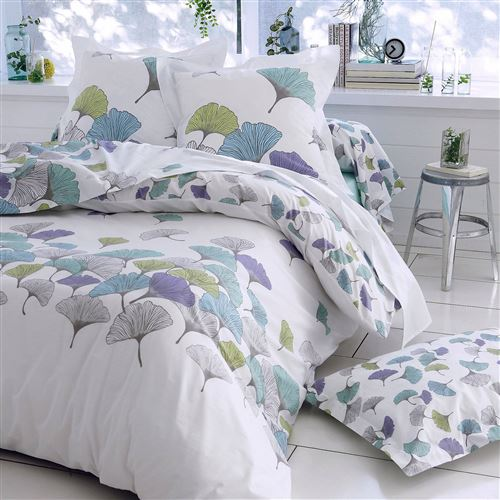 Taie d'oreiller percale Ginko TRADILINGE - 50 x 70 cm