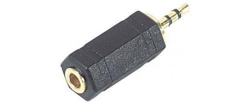 Adaptateur Vshop avec fiche Jack 2,5mm stéréo mâle et fiche Jack 3,5mm stéréo femelle