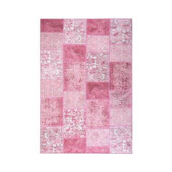 Homense Tapis Vintage Patchwork Rose 200x300 Cm Achat Prix Fnac