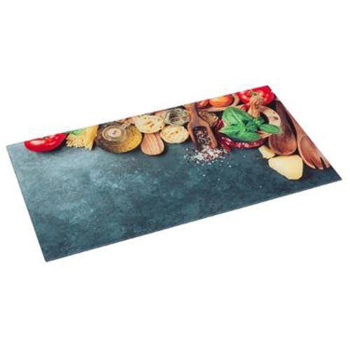 Planche à Découper Verre Italie 30x52cm Multicolore