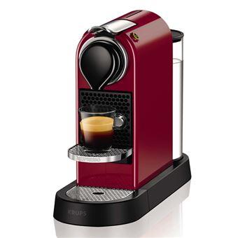 krups xn7405 cafeti re nespresso citiz flow 19 bars rouge achat prix fnac. Black Bedroom Furniture Sets. Home Design Ideas