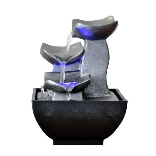 Petite Fontaine DIntrieur Moderne Senzu Duro  Gris  Achat  Prix