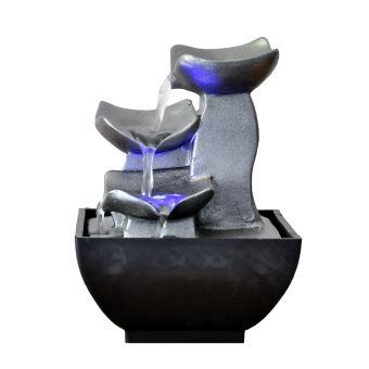 Petite Fontaine Du0027intérieur Moderne Senzu Duro   Gris   Achat U0026 Prix | Fnac
