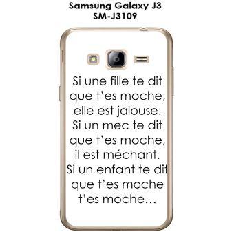 Onozo - Coque Samsung Galaxy J3 - SM-J3109 design Citation