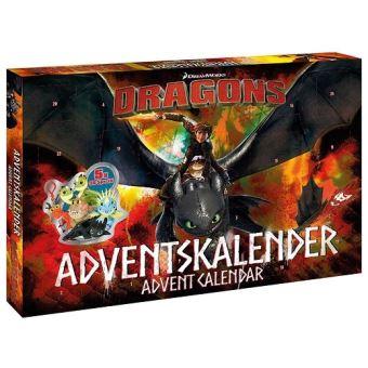 Calendrier De Lavent Allemand.Calendrier De L Avent Dragons Dreamworks Anglais Allemand Figurines Puzzles Stickers Etc