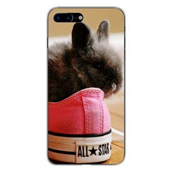 coque iphone 7 plus silicone lapin