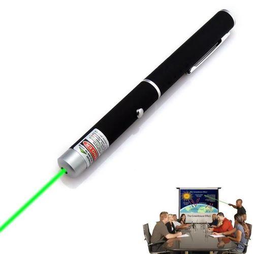 stylo pointeur laser vert laser 532nm haute puissance lumineuse du faisceau 5mW militaire